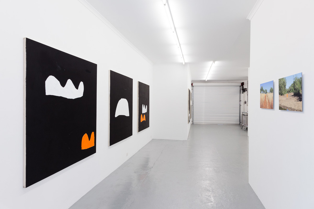 Hayley Megan French,  Hints of things we know , installation view, Galerie pompom. Photography by DocQument.