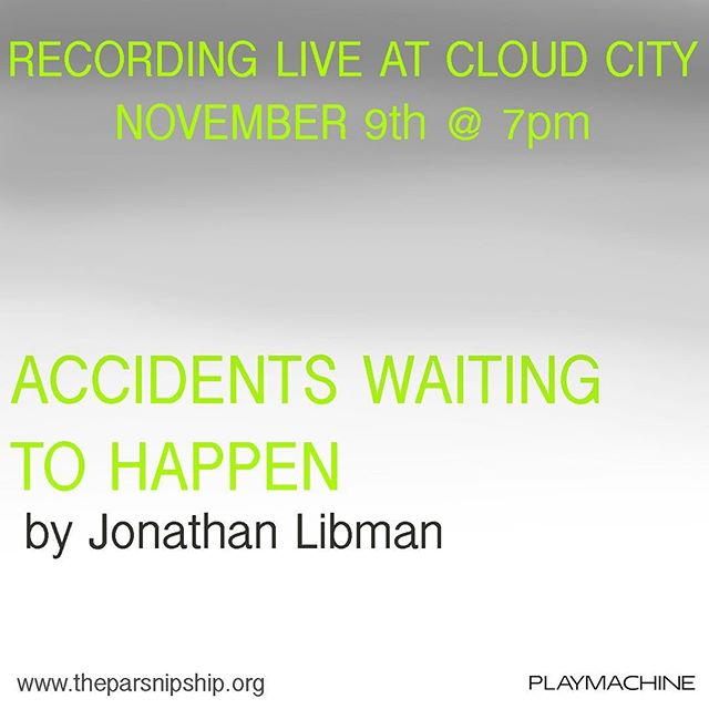 The Parsnisp Ship is continuing its voyage soon! 💚 November 9th, we'll be welcoming Jonathan Libman and his new work following a teen trying to find his way through a life-changing moment. Learn more about it and RSVP in the link in the bio! #LetThemReadPlays