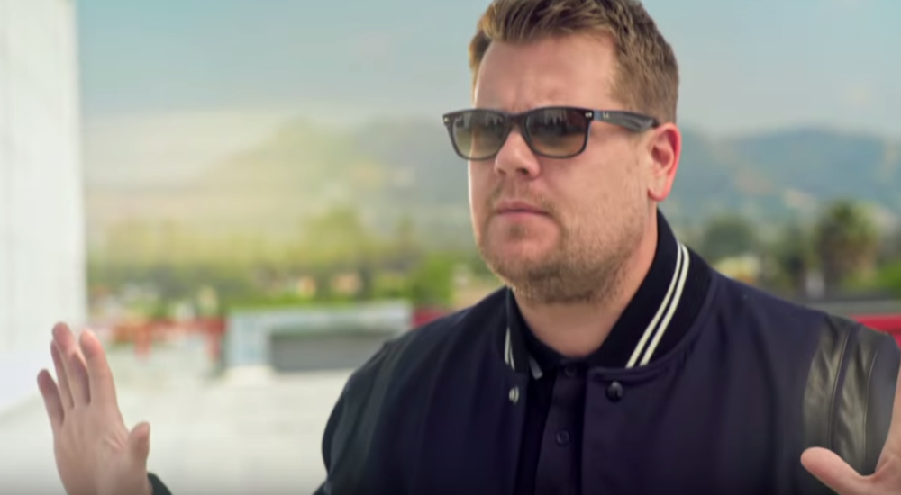 Here's a picture of James Corden, because why not?