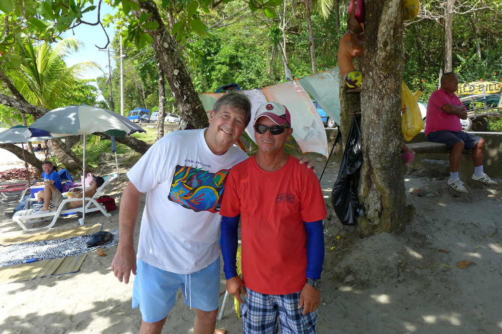 "Part of the ""Sooner Nation"". Amigo gave up his law degree from OU to reside in the Manuel Antonio area. Some facts maybe lost in translation, but I think he was in my Poly Sci class."