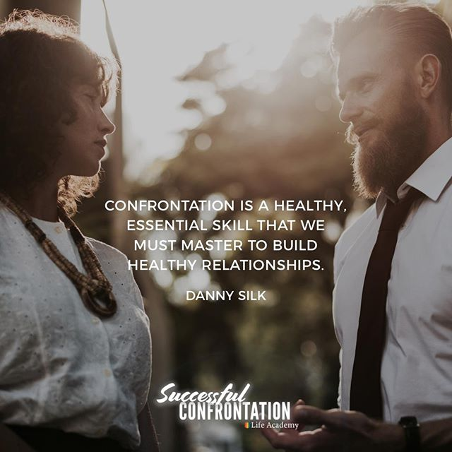We must be willing to learn from even the most painful confrontations and keep getting back on the horse to try to manage our emotions, communicate honestly, listen well, serve generously, and stay true to the goal of connection. —— Successful confrontation course is coming next Tuesday to the Life Academy!!! —— #successfulconfrontation #lifeacademy #connection #lovingonpurpose #relationships