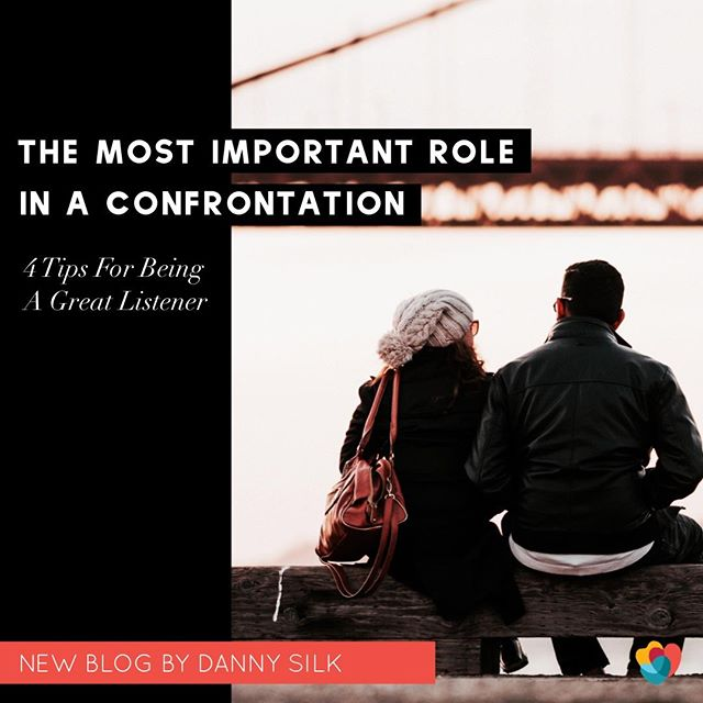 The most important part of every successful confrontation is that it becomes a collaboration—two people working together with a common purpose, which is to find and meet the needs that are currently not being met in the relationship. And between the two roles in this collaboration—speaker and listener—the listening role is usually the game changer.  Here are 4 tips for playing this role effectively.... —— 🔥Read the rest in the blog!🔥 Link in my bio —— #lopblog #lovingonpurpose #successfulconfrontation #lifeacademy #listening #relationships #kylo #keepyourloveon