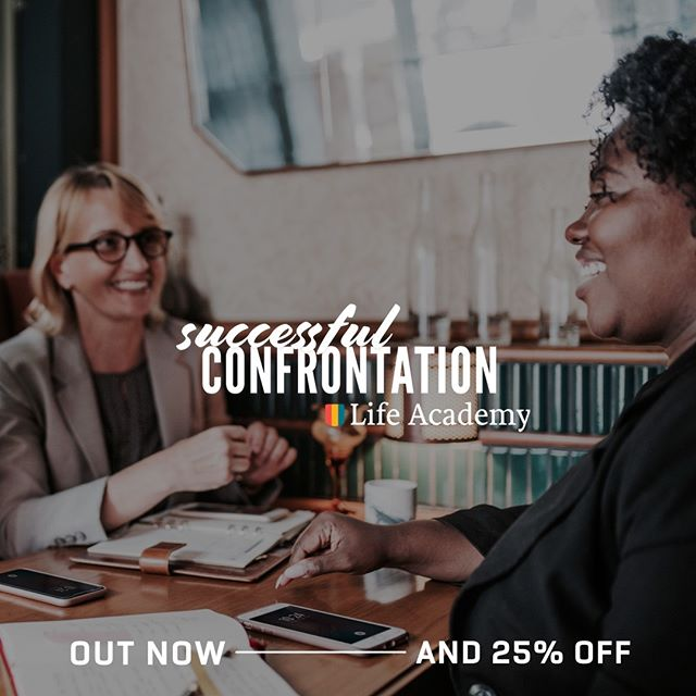 🔥The new eCourse, Successful Confrontation, is available. Plus 25% off🔥 I am so excited for you to join me on this journey of breaking painful cycles, getting needs met, and establishing deeper levels of comfort and connection in your relationships! —— This eCourse, along with all our other Life Academy eCourses, are completely online, allowing you to go at the exact pace you need to! —— 25% off for a limited time!!! USE THE LINK IN MY BIO TO CHECK IT OUT —— #lifeacademy #lovingonpurpose #successfulconfrontation #connection #relationships