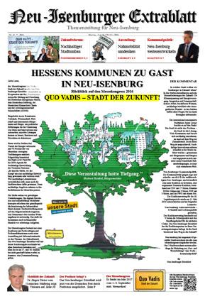 Quo Vadis Ausgabe Oktober 2016 - Neu-Isenburger ExtrablattZum Download