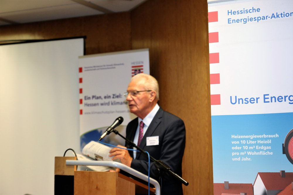 Herbert Hunkel eröffnet