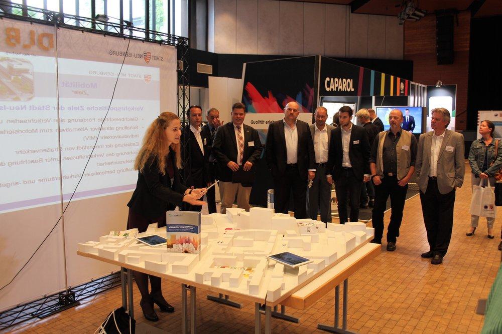 Infostand Fraunhofer Institut