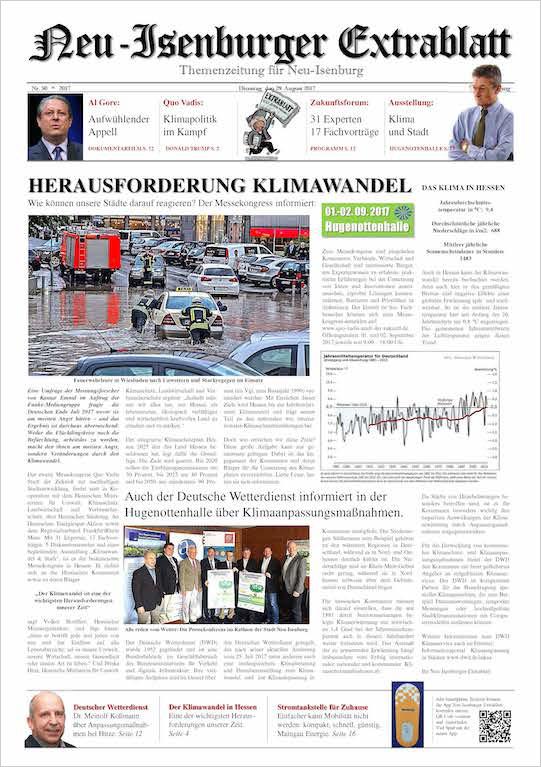 Quo Vadis AusgabeAugust 2017 - Neu-Isenburger ExtrablattZum Download
