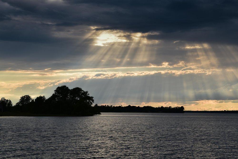 Sunbeams, Amherst Island