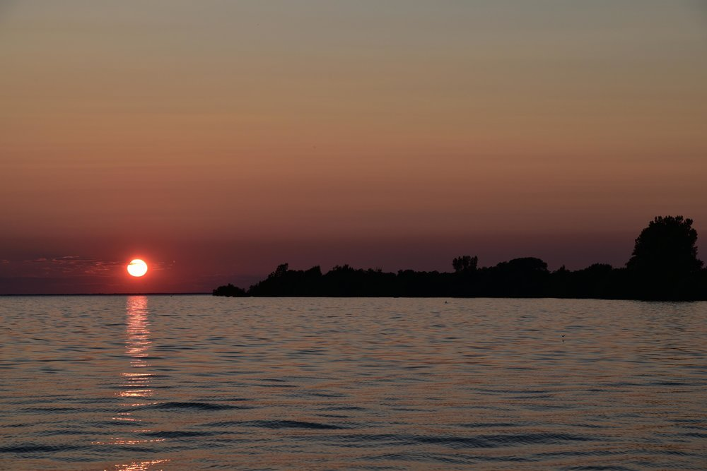 Duck Island Sunset, Duck Island, Lake Ontario