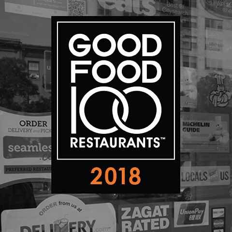 We are honored and proud to be featured on the 2018 @GoodFood100list, an annual list and economic report offering insight into chefs & restaurants purchasing practices and their commitment to sustainable sourcing. #goodfoodtastesbetter #menutransparency #goodfoodforall #goodfood100