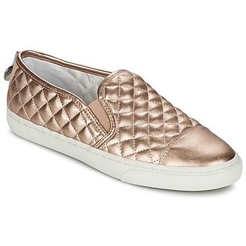 Geox Slip Ons Rose Gold