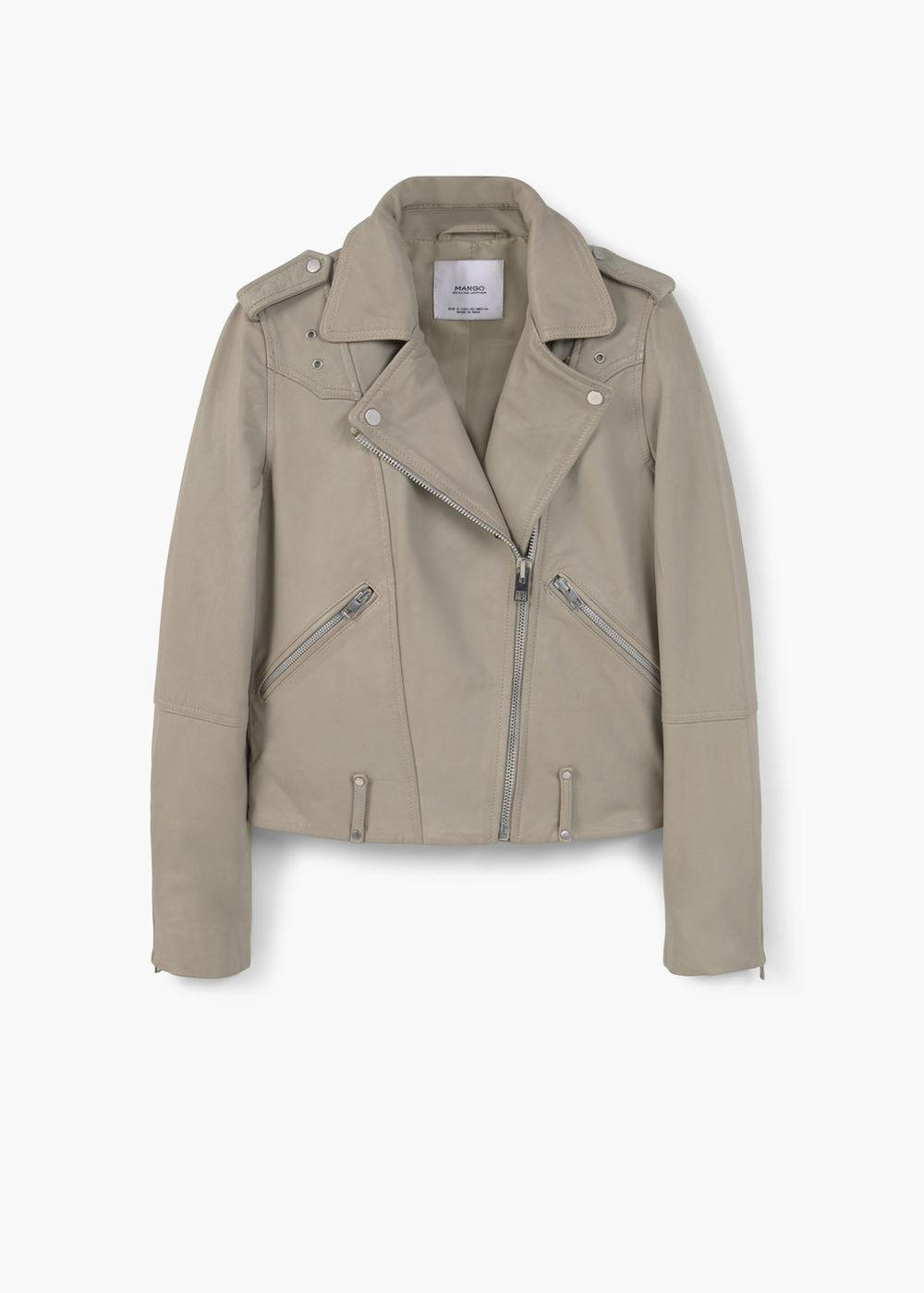 To Mango Biker Jacket που σκοπεύω να φοράω σχεδόν συνέχεια!