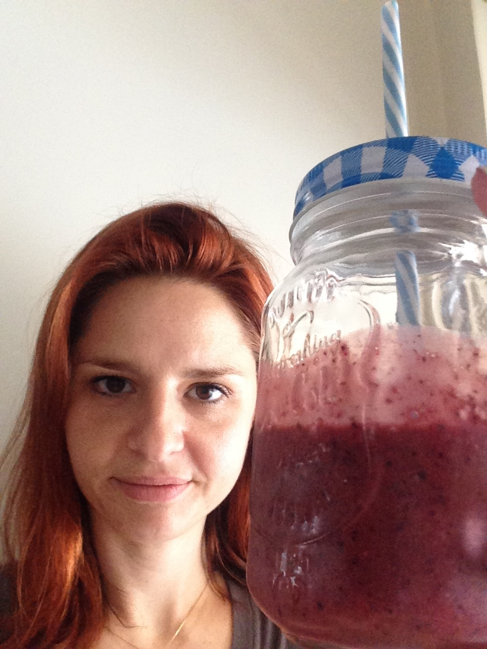 Clear Skin + smoothie!
