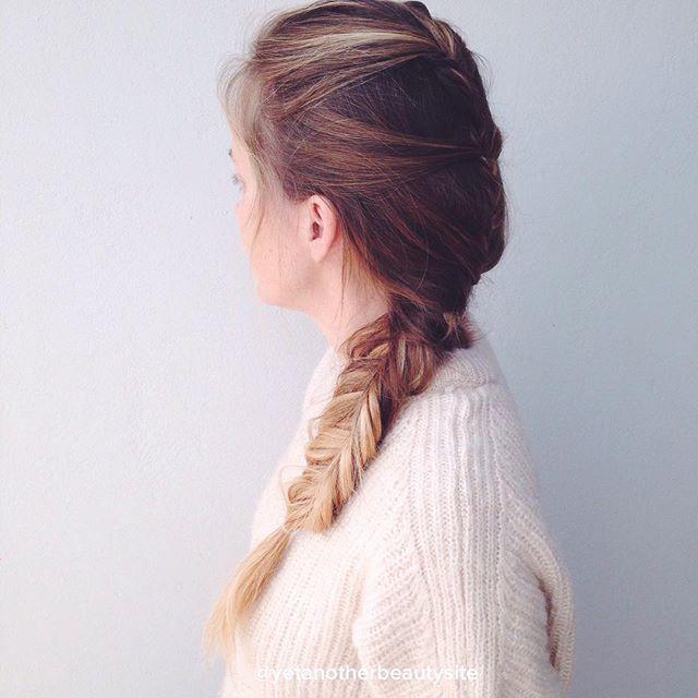 Dutch Braids & Fishtail braid. Και τα 2 χτενίσματα από την talented Ulrika του yetanotherbeautysite.com