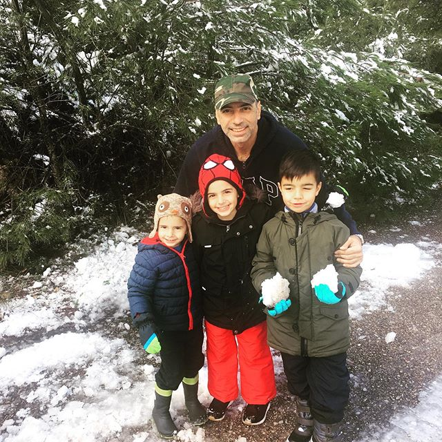 Friyay in the snow #ohwhatfun #snow #myboys #mummyof3 #white