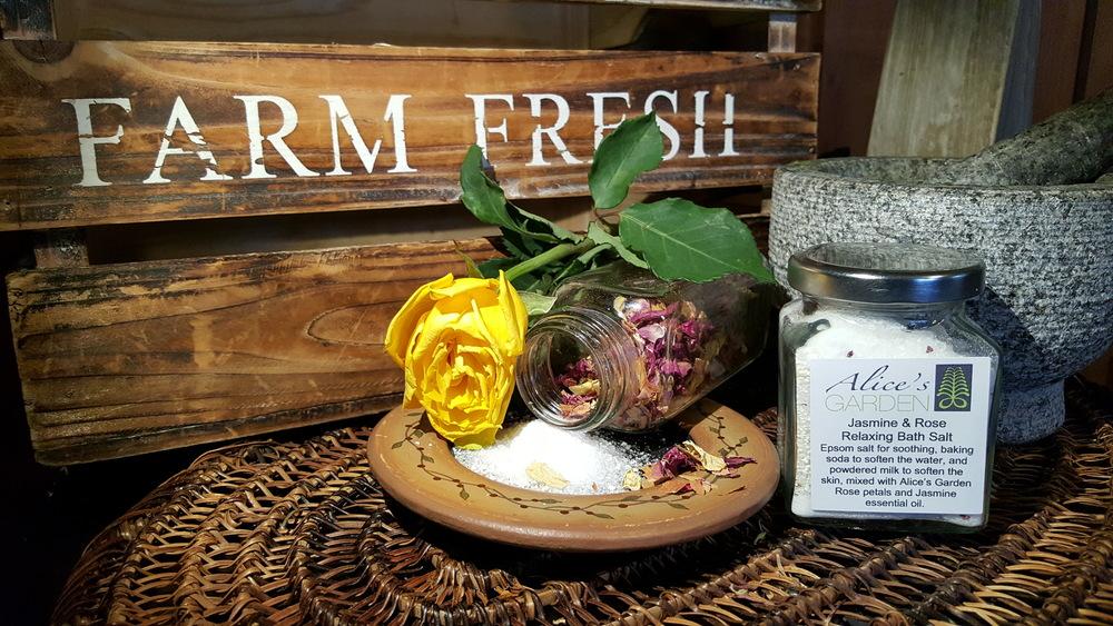 epsom salts for roses