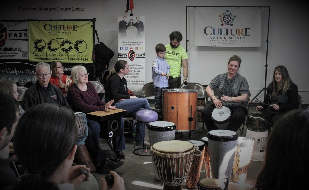 Drumming for Community - This group is resting for the winter! We look forward to seeing you again in the Spring!