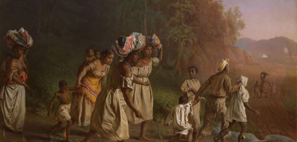 On to Liberty  (1867), Artist: Theodor Kaufmann