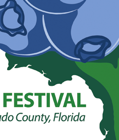 Florida Bluberry Fest Logo Design