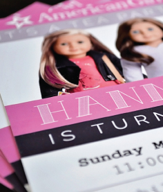 Hannah's Birthday Invitation Design