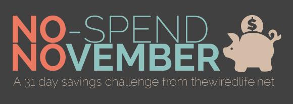 no-spend november