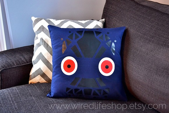 majora's mask all night mask pillow