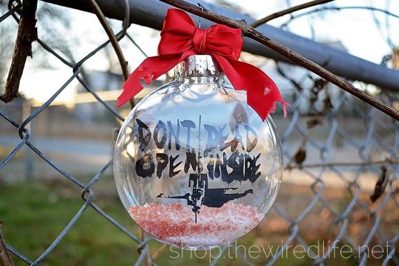 The Walking Dead ornament