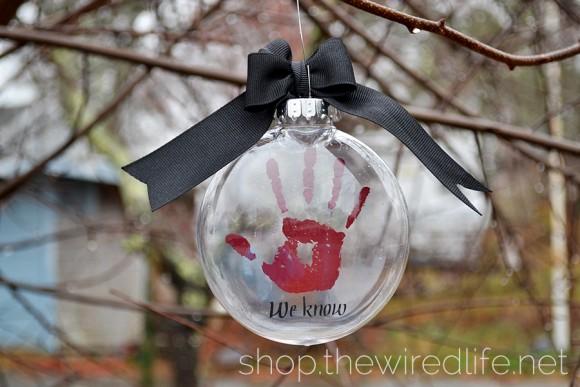 Skyrim Dark Brotherhood We Know ornament