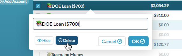 student loans debt free