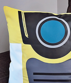 Borderlands Claptrap Pillow