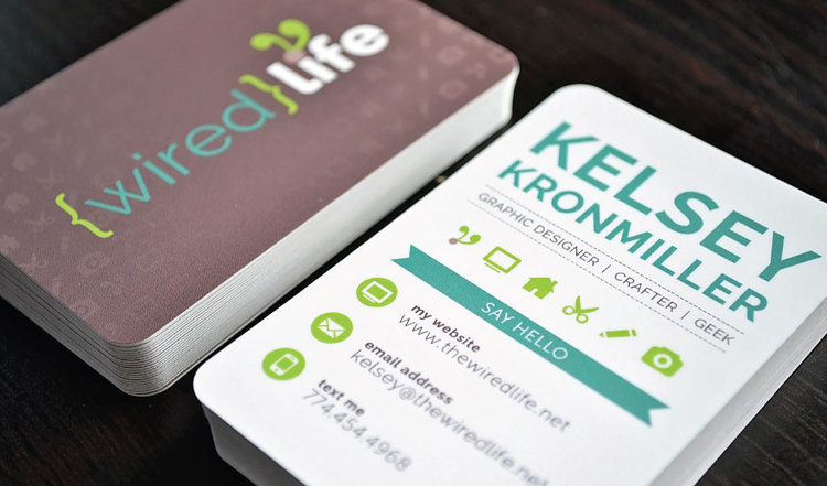 Wired Life Business Cards | Business Card Design — Wired Life