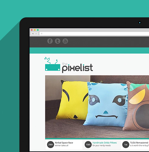 The Pixelist Website Design