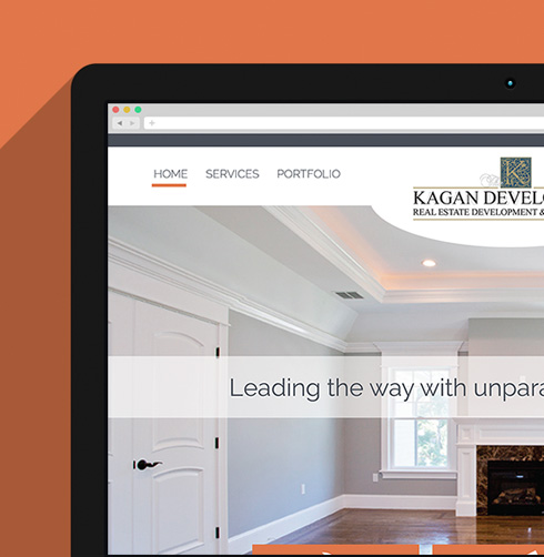 Kagan Development Website Design