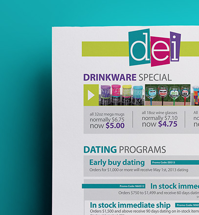 DEI Promotional Flyer Design