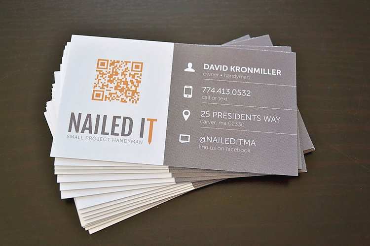 Nailed it business cards wired life colourmoves