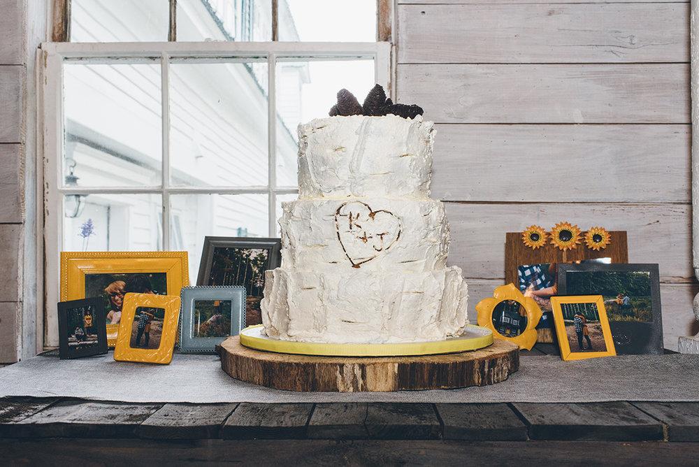 The actual cake.