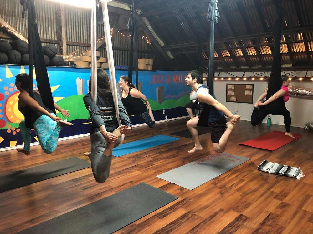 aerial yoga fort worth
