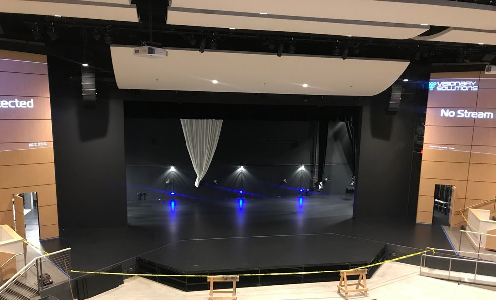 Stage Installations - South Christian Grand Rapids, Michigan