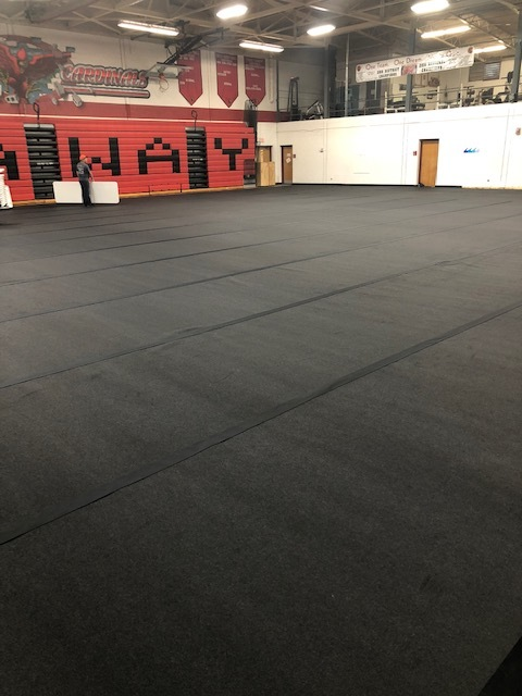 GymPro Eco-Roll Floor Covering System
