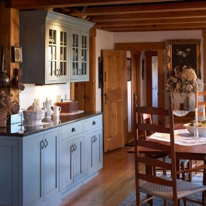 Village House.blue kitchen.jpg