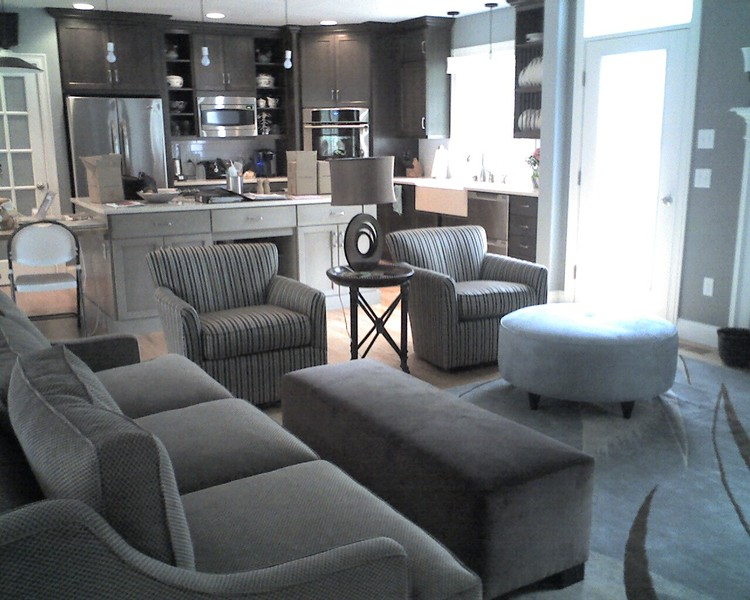 Contemporary Seating Area — Vintage House Design 716.708.1140