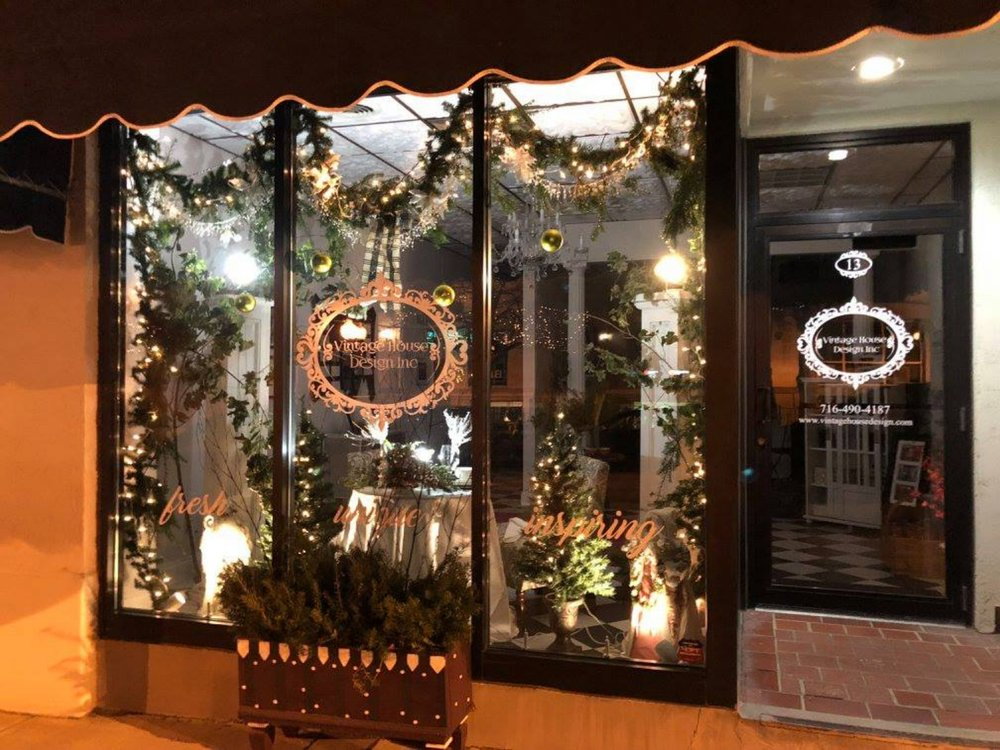 From Facebook. - Jamestown Renaissance CorporationDecember 20, 2017 at 4:04 pm· Congratulations to the winners of the 2017 Downtown Jamestown Holiday Storefront Decorating Contest. It was a very, very close contest. Our sincerest thanks to all of the businesses who worked hard to make our downtown brighter this season. Downtown looks beautiful!And now the winners...First place: Esquire CleanersSecond place: Vintage House DesignThird place: The GypsyMoon Cake Co
