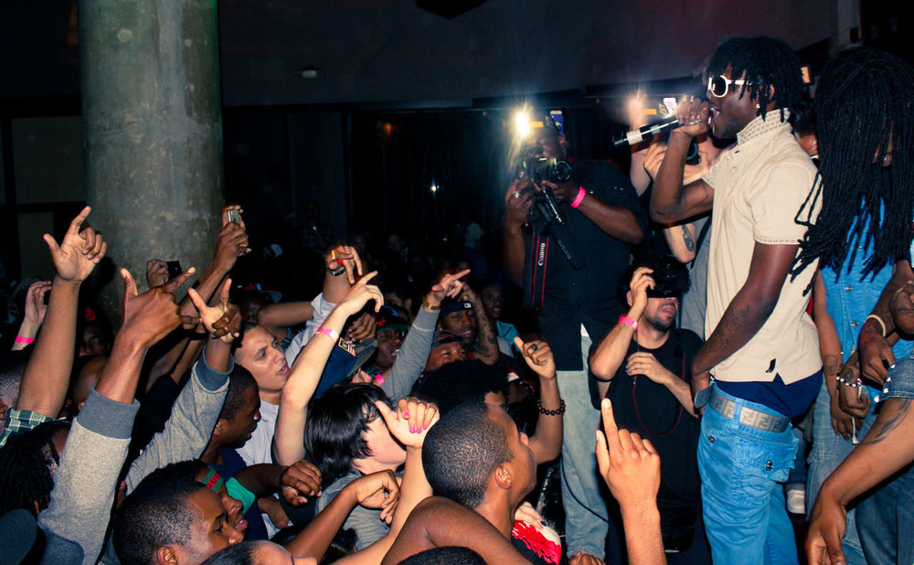 Chief Keef performing live and in the flesh. (Jack Sommer/Flickr)