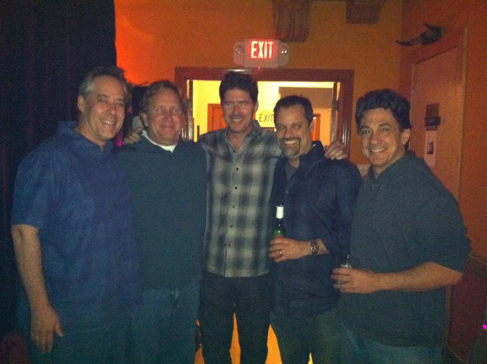 Nate Kunkle, Ed Cherney, John Alagia, SG, Niko Bolas 2011