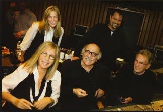 Barbra Streisand, Diana Krall, Tommy LiPuma, SG, Al Schmitt 2008