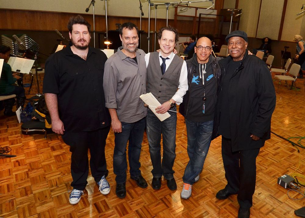 Wesley Seidman, SG, Chris Walden, Ricky Minor, Ernie Fields Jr.
