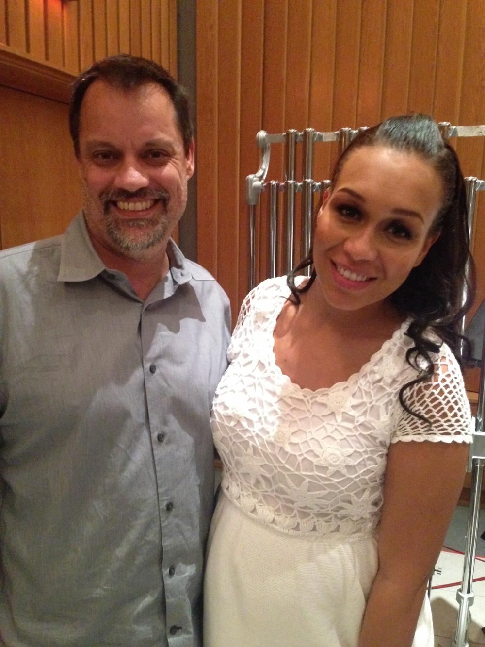 Steve & Rebecca Ferguson 2014