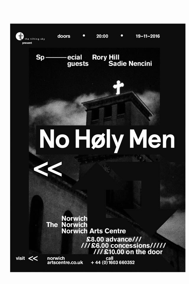 NO HOLY MEN EP LAUNCH