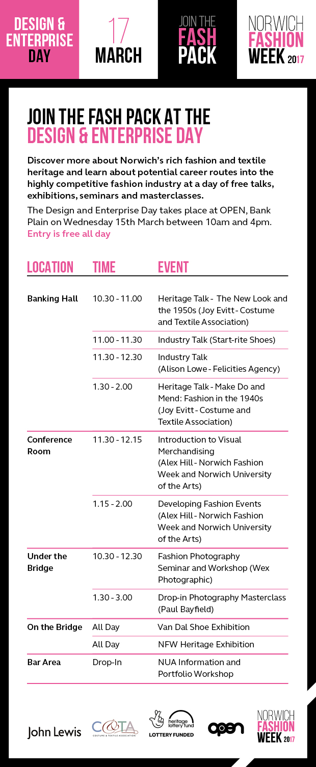 NFW Design and Enterprise Day 2017