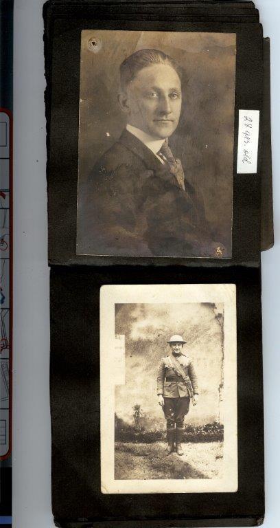 D. Lev Vet Graduation pic and WWI.jpg